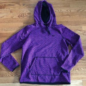 Nike purple sweatshirt